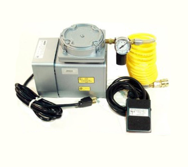 Air Compressor with Switch Foot